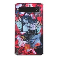 Solitude Stands Love Relationship Goth Collage Art Power Bank