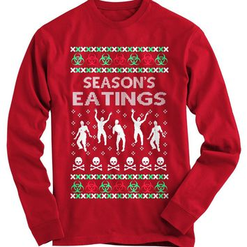 Seasons Eatings Ugly Christmas Sweater