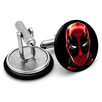 Deadpool Portrait Cufflinks