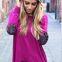 PRE-ORDER Not Your Boyfriend Top: Mulberry   Pretty Edgy