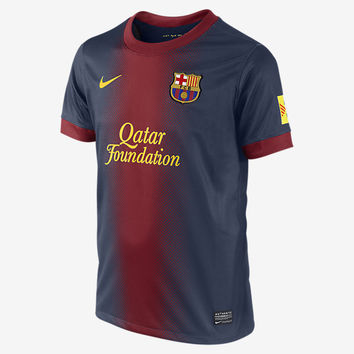 Barcelona 2012 2013 Home Jersey Youth and Boys Sizes
