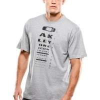 Oakley Mens T-Shirt Eye Patch (X-Large)- Heather Grey