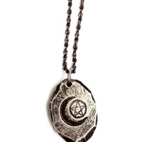 Unearthen + The Wild Unknown Ace of Pentacles Pendant