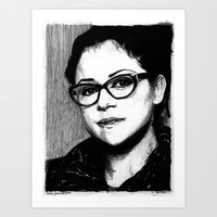 Cosima Niehaus - Orphan Black Art Print by Hailey Jarman