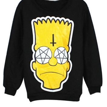 Bart Simpson Anarchy Sweatshirt