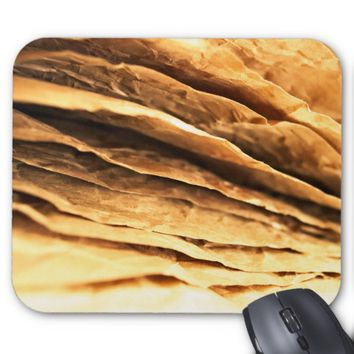 abstract textured paper design mouse pad
