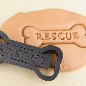 Dog Bone Rescue Cookie Cutter Pet Treat