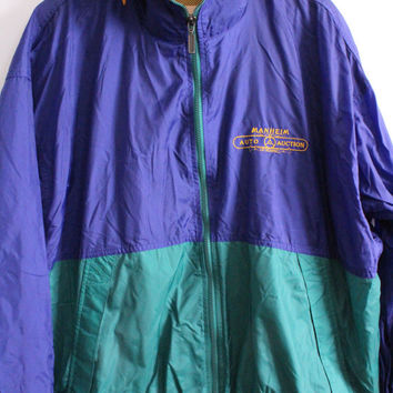 Baggy Auctioneer 90s Basic Windbreaker