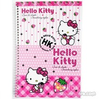 Hello Kitty Blank Spiral Notebook : Strawberry $4.50