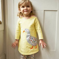 Girls Dresses Long Sleeve
