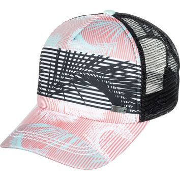 Roxy Approach Trucker Hat - Women's White, One