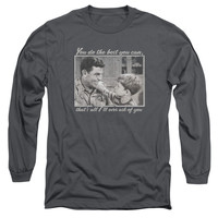 ANDY GRIFFITH/WISE WORDS-L/S ADULT 18/1-CHARCOAL