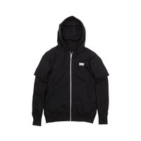 KITH Classics Lexington Zip-Up Hoody - Black