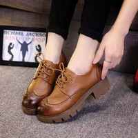 Casual On Sale Hot Deal Comfort Hot Sale Shoes Leather England Style Soft Stylish Sneakers [9432939466]