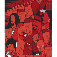 """The Dark Passenger"" by Ale Giorgini"