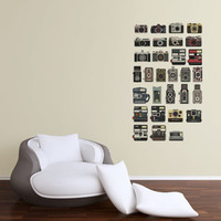 PIXEL PERFECT CAMERA COLLECTION - Pixel Perfect - Wall Decals - Plastic Surgery for Your Walls