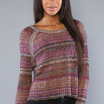 The Lost In The Forest Pullover in Faded Rose