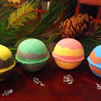 Surprise CHARM Hogwarts Houses XL Bath Bomb - Harry Potter Bath Bombs // Gryffindor //Ravenclaw // Slytherin // Hufflepuff // Jewelry Bomb