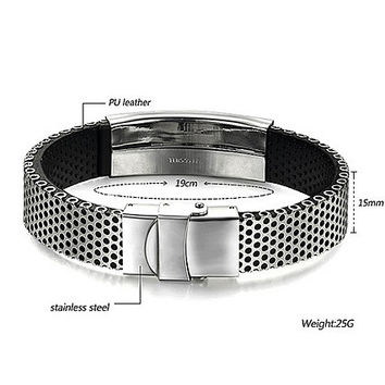 Perforated Metal Bracelet