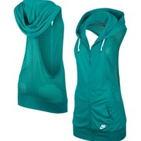 Nike Women's Three-D Sleeveless Hoodie - Dick's Sporting Goods
