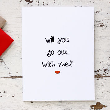 Will You Go Out With Me Funny Date From Thenestedturtle