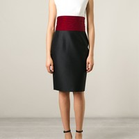 Dsquared2 Colour Block Pencil Dress - Dell'oglio - Farfetch.com