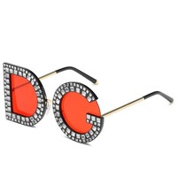 Diamond DG Square Sunglasses
