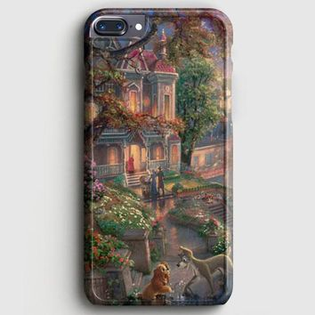 Lady And The Tramp Disney iPhone 7 Plus Case