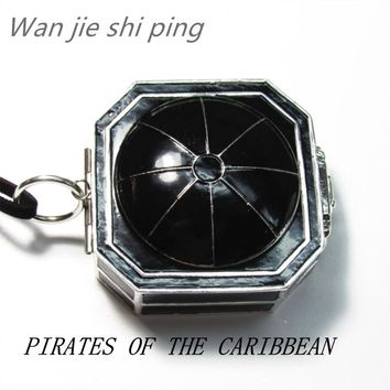 New style Pirates of the Caribbean Compass Necklace