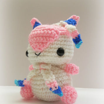 Crochet Sylveon Inspired Chibi Pokemon