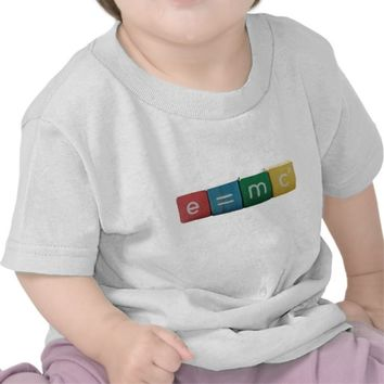Einstein's formula infant shirt