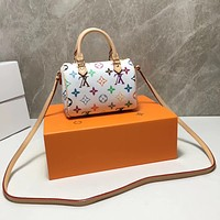 LV Louis Vuitton MONOGRAM CANVAS NANO SPEEDY HANDBAG SHOULDER BAG