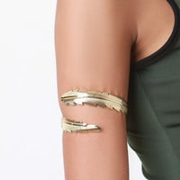 Feather Wrap Upper Arm Cuff
