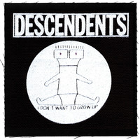 Descendents Cloth Patch Black