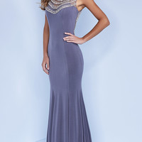 Classic Floor Length Formal Prom Dress