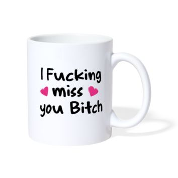 I MISS YOU Coffee Mug / Tea Mug / I Miss You Gifts For Best Friend /