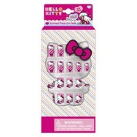 Hello Kitty Scented Press-On False Nails - 20 pc