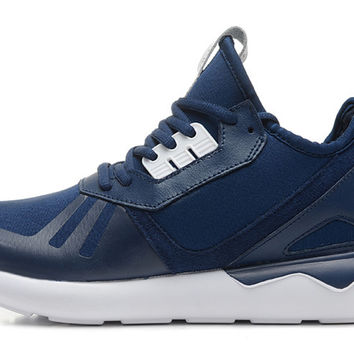 Adidas Tubular Runner (Navy Blue/White)