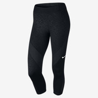 The Nike Pro Hypercool Palm Women's Training Capris.