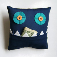 Tooth Fairy Pillow money slot by meggiebabe on Etsy