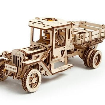 Wooden UGM-11 Truck - Ugears Mechanical Model 3D Puzzle Tinker Toy