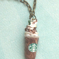 Mocha Frappuccino Necklace