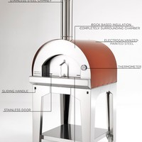 Wood Burning Pizza Oven - Forno Toscano Margherita