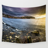 Time to head home Wall Tapestry by HappyMelvin