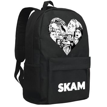 SKAM Backpack American Sope Opera Isak Even Daypack