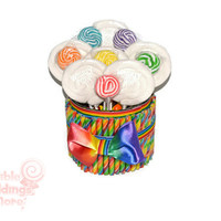 Rainbow Lollipop Arrangement, One of a kind, ready to ship, rainbow candy arrangement, rainbow, candy, lollipop, centerpiece, OOAK, candy