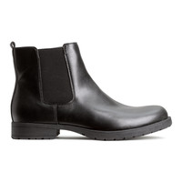 H&M - Chelsea Boots - Black - Men