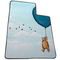 winnie the pooh balloon  for Kids Blanket, Fleece Blanket Cute and Awesome Blanket for your bedding, Blanket fleece *AD*
