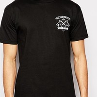 The Hundreds T-Shirt With Screaming Bomb Print