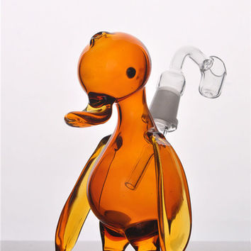Water pipr oil Burner Glass Animal Bubber Water Pipe ART WITH BANGER Concentrate Rigs r